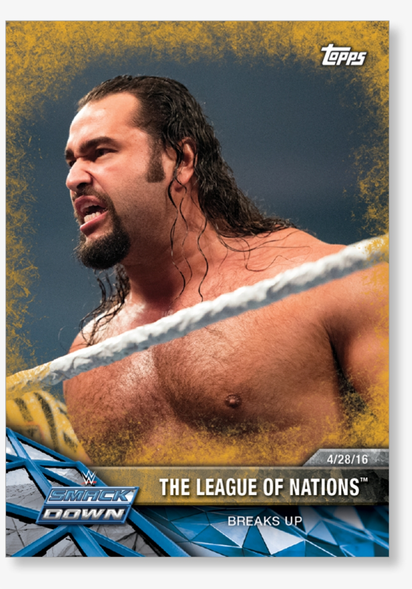The League Of Nations 2017 Wwe Road To Wrestlemania - Wwf Road To Wrestlemania, transparent png #1860653