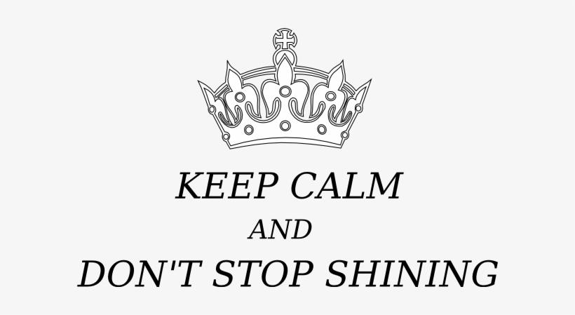 Svg Transparent Stock Keep Calm Crown Clip Art At Clker - Clip Art Keep Calm, transparent png #1861146
