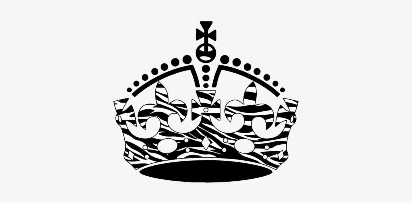Keep Calm Crown Clip Art - Keep Calm And Carry, transparent png #1861668