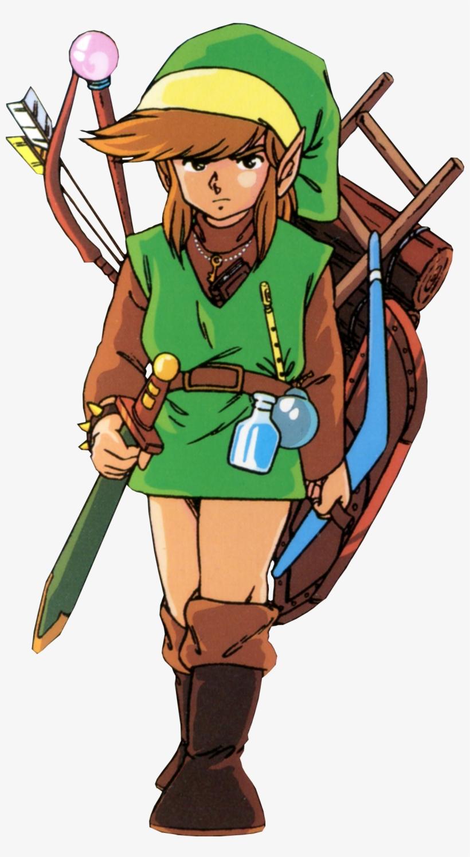 Link Must Destroy All One Hundred Of The Gold Skulltulas - Link The Legend Of Zelda 1, transparent png #1861728