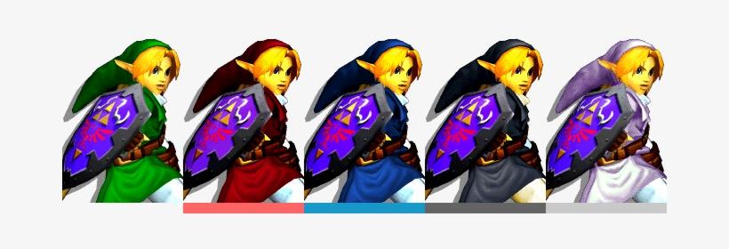 Image Result For Ssbm Link Costume - Super Smash Bros Melee Link Costumes, transparent png #1861997