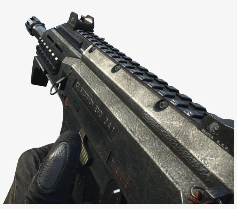 Skorpion Evo Call Of Duty Wiki Fandom - Skorpion Evo Black Ops 2, transparent png #1863286
