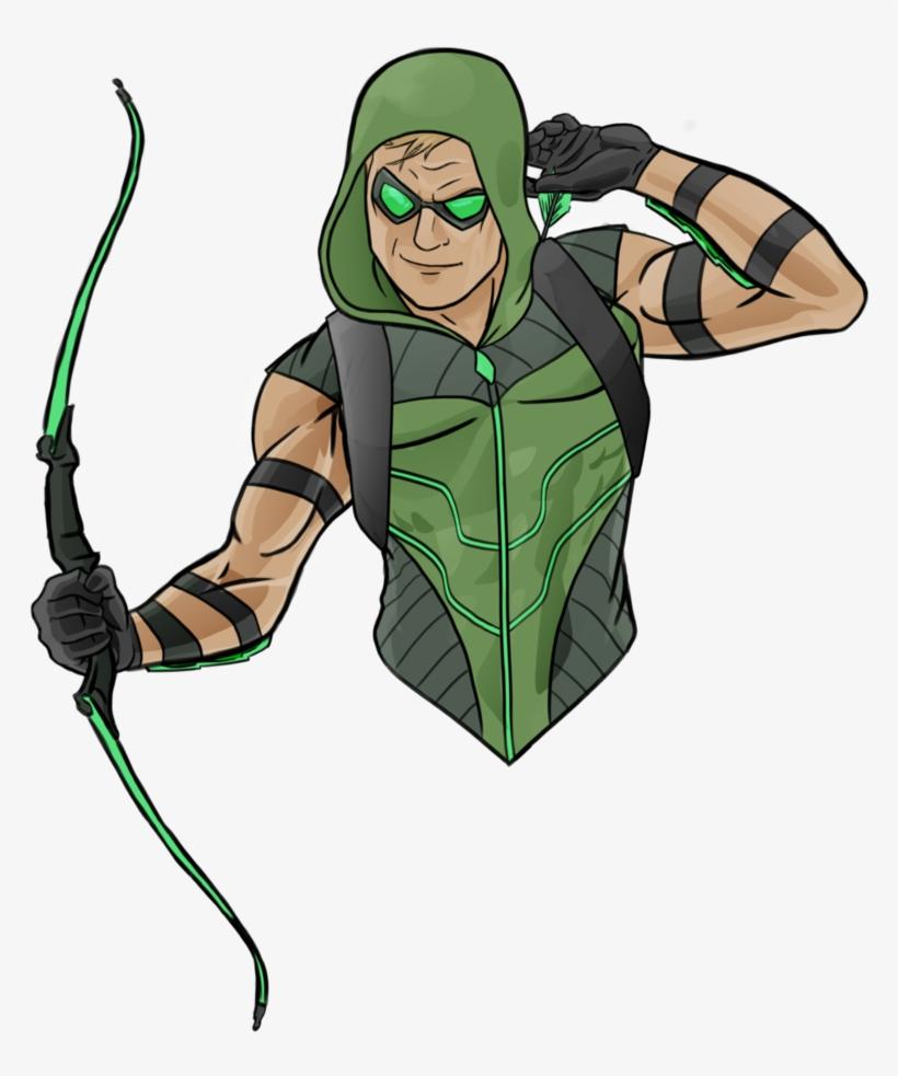 Картинки зеленой стрелы