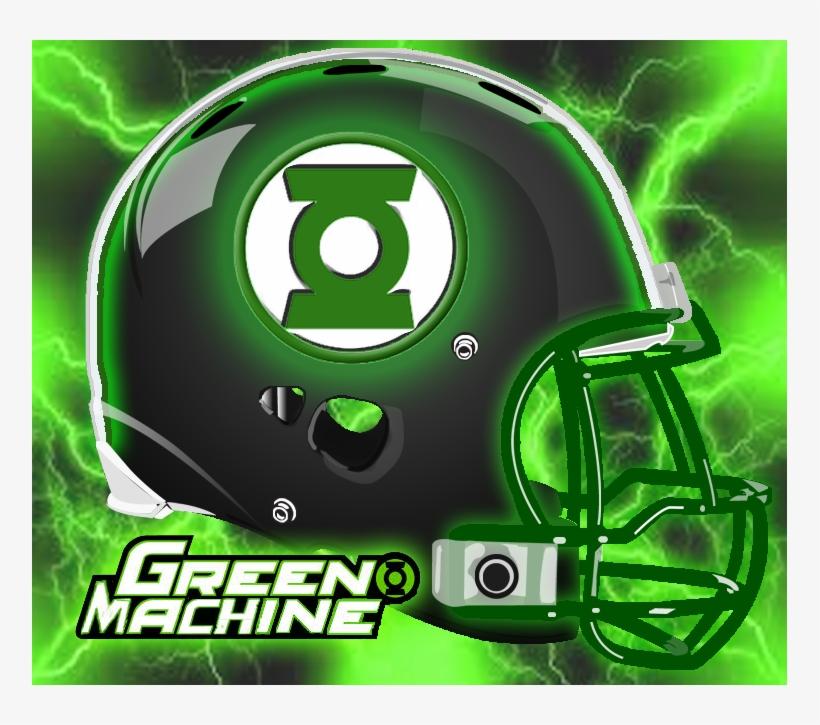 596002962374b - Dc Comics Football Helmets, transparent png #1864779