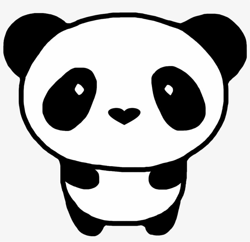 Panda Svg Kawaii Easy Cute Panda Drawing Free Transparent Png Download Pngkey