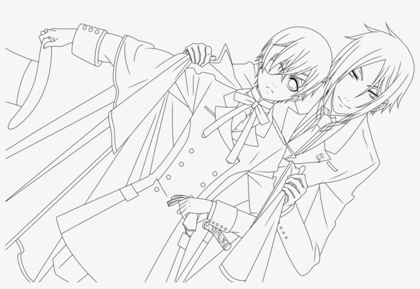 Anime Girl Coloring Pages To Print Tag: 28 Anime Girl Coloring ... | 563x820