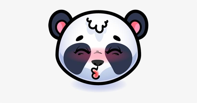 Emotion Panda Sticker - Panda You Dont Know My Password, transparent png #1867350