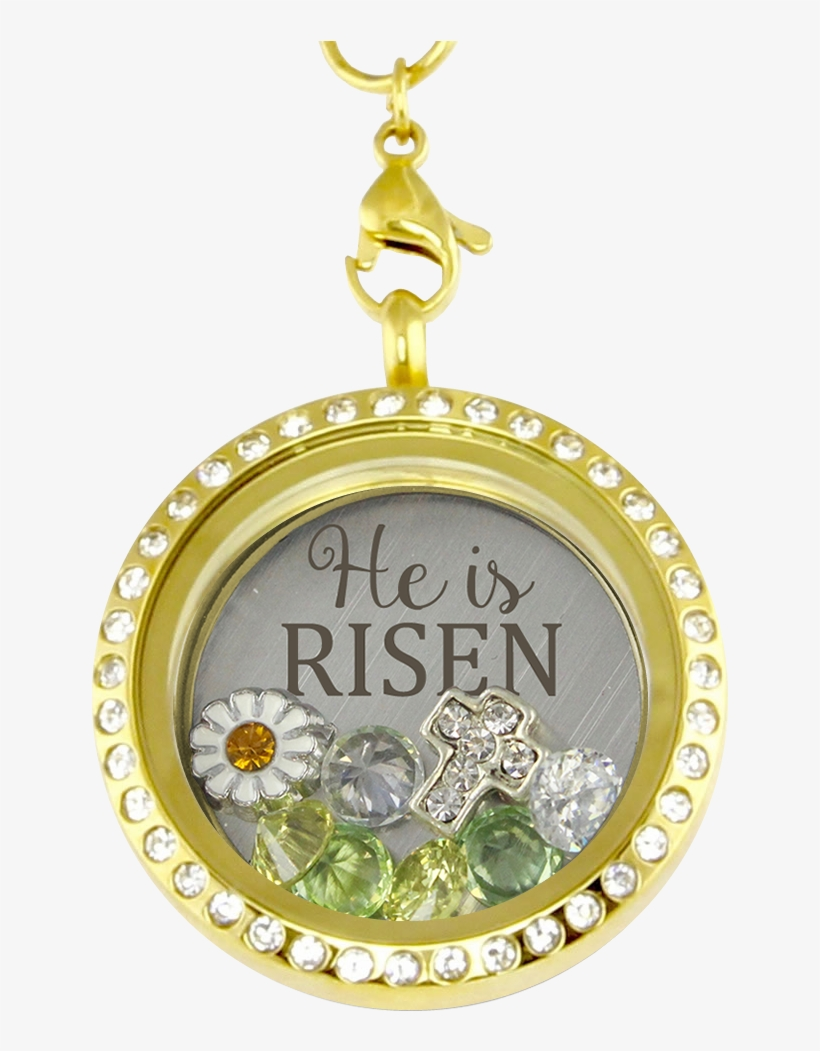 He Is Risen Charm Necklace - He Is Risen! Charm Necklace, transparent png #1869576