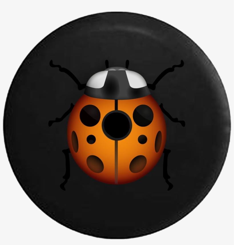 Jeep Wrangler Jl Backup Camera Day Emoji Text Ladybug - Emoji, transparent png #1870864