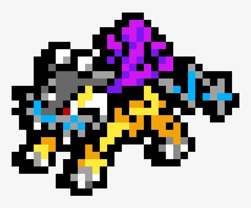 Raikou Pixel Art Pokemon Raikou Free Transparent Png