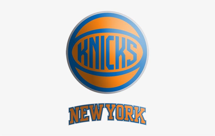 Nba 2018-19 New Season New York Knicks Team Apparel - New York Knicks, transparent png #1872473