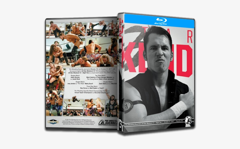 Pwg All Star Weekend 13 Night Two Blu-ray - Pro Wrestling Guerrilla, transparent png #1872702