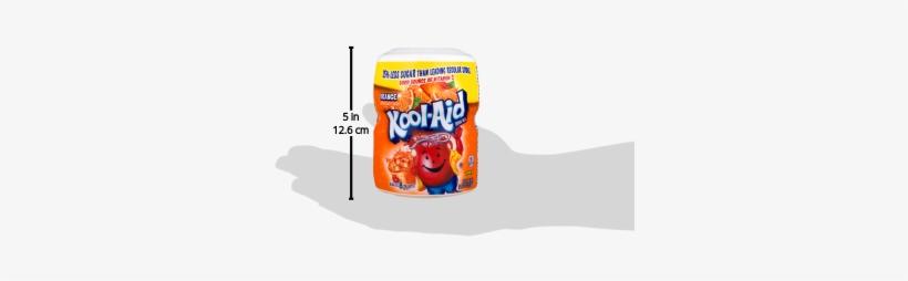 Kool-aid Drink Mix, Orange, 19 Oz, - Kool Aid Drink Mix, Orange - 19 Oz Jar, transparent png #1872962