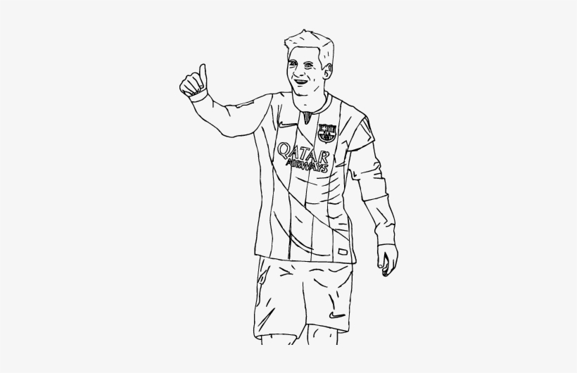 Messi Coloring Pages Messi Bara Coloring Page Coloringcrew Lionel