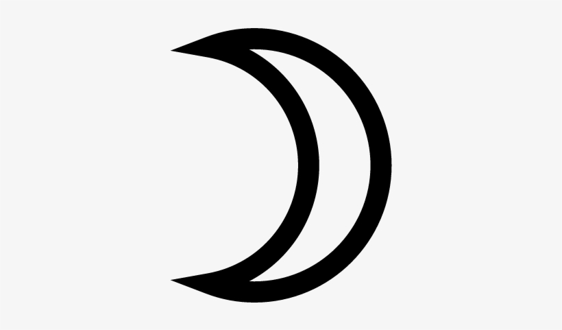 crescent moon vector half moon vector free transparent png download pngkey crescent moon vector half moon vector
