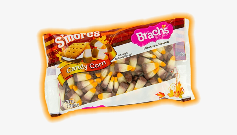 Smore Candycorn - Brach's Halloween Mellowcreme Pumpkins Candy, 21 Oz, transparent png #1874466