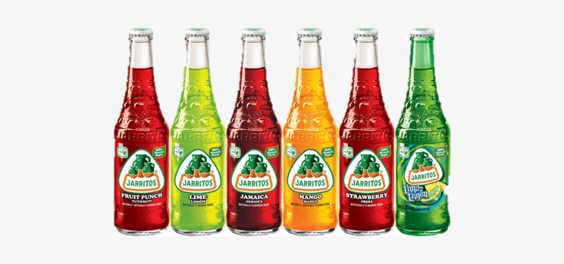 Jarritos Bottles - Jarritos Lime Soda - 12.5 Fl Oz Bottle, transparent png #1875793
