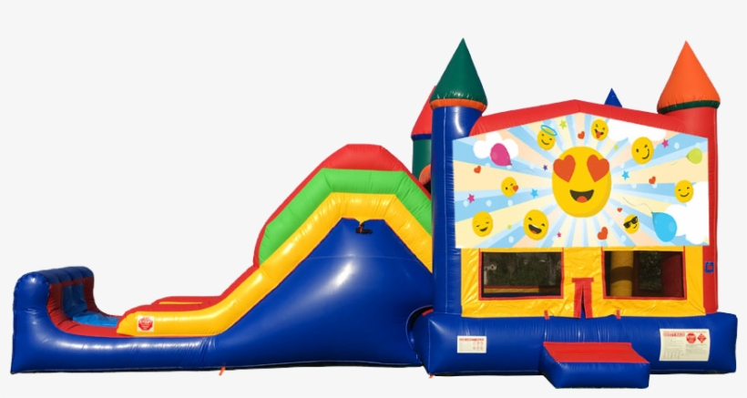 Emoji Super Combo 5 In 1 From Awesome Bounce Of Michigan - Emoji Bounce House Rental, transparent png #1875816