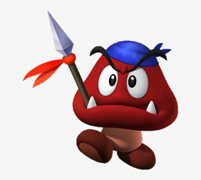 c9d66441203 Goomba With A Hat - Mario Goomba 2d - Free Transparent PNG Download ...