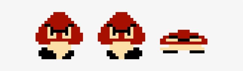 Smb1 Goomba Sprites Super Mario Bros Goomba Sprite Free