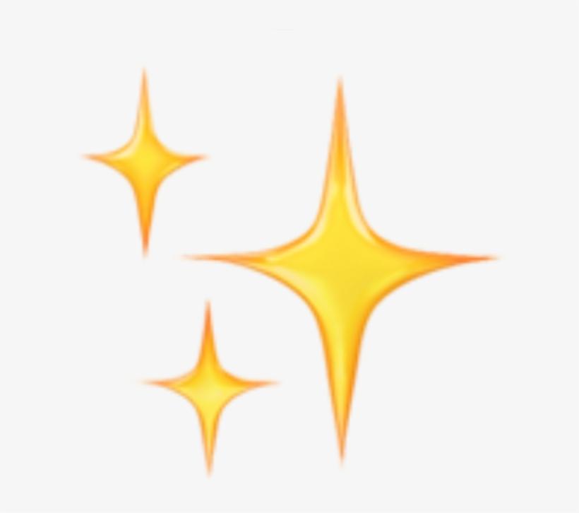 Emoji Emojis Emojisticker Emojistickers - Emoji Sparkles, transparent png #1876342