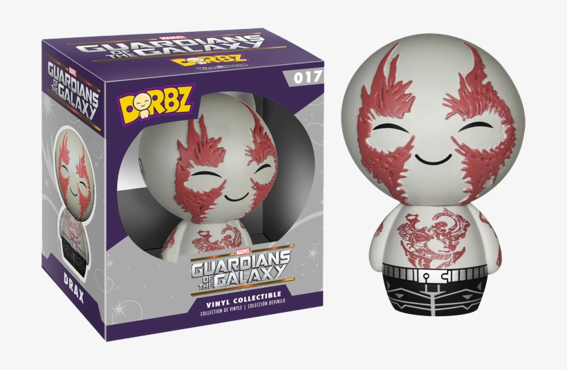 Guardians Of The Galaxy - Dorbz Guardian Of The Galaxy Drax Vinyl Figure, transparent png #1876815
