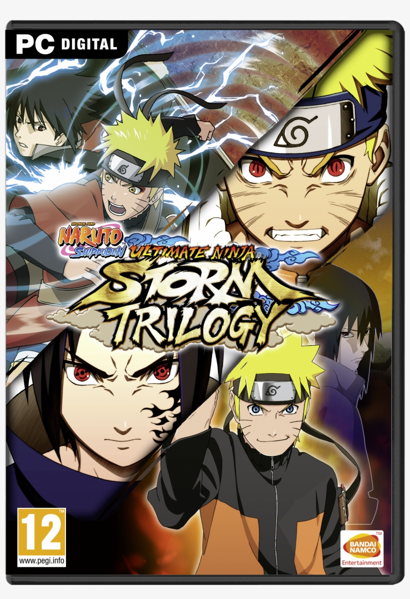Ultimate Ninja Storm Trilogy Announced - Naruto Ninja Storm Trilogy Switch Physical, transparent png #1877120