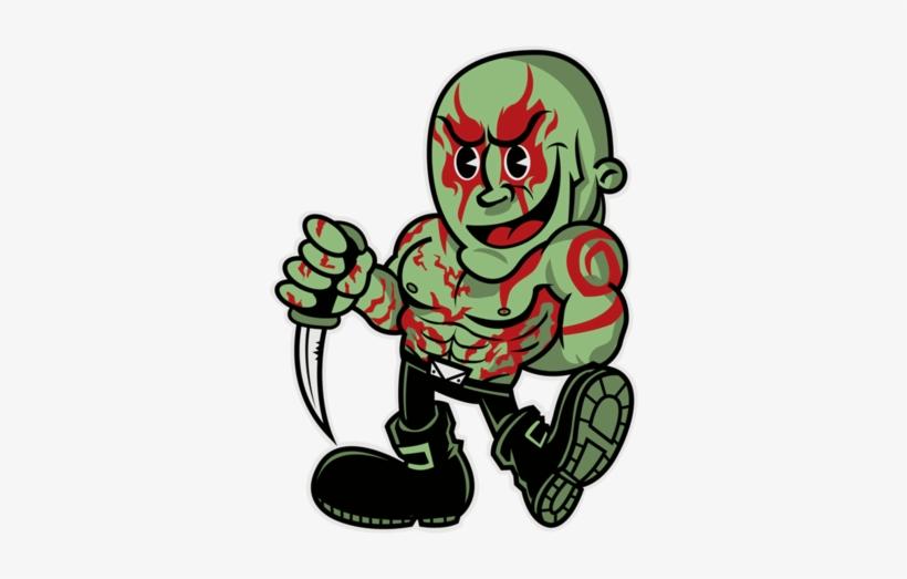 The Rant Thread - Drax Guardians Of The Galaxy Vol 2 T Shirt, transparent png #1877260