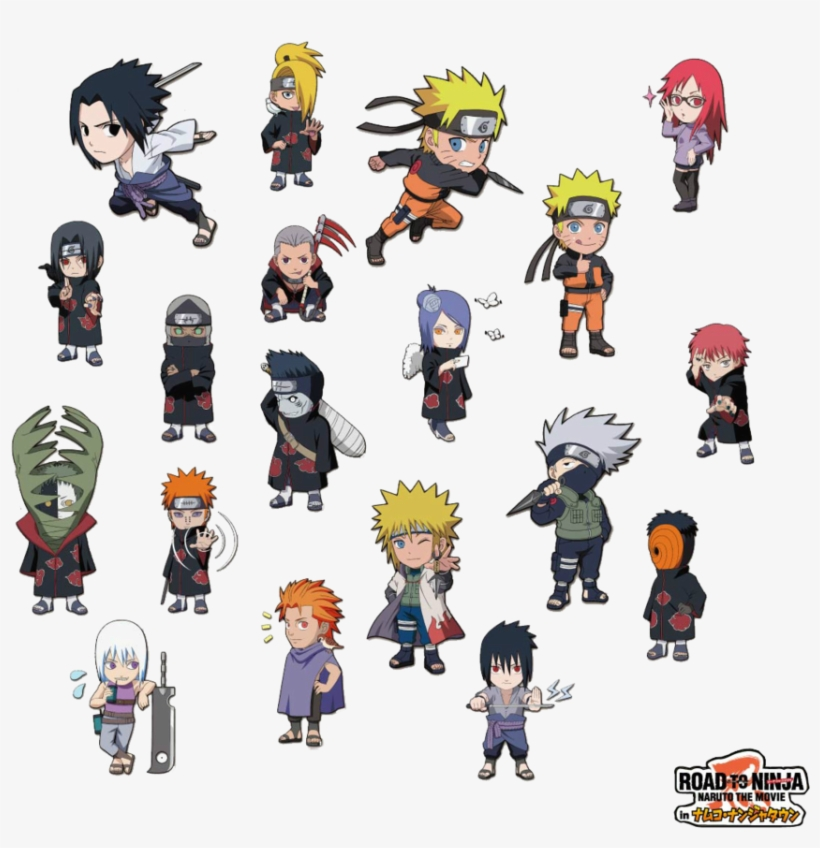 Chibi Naruto Shippuden Characters - Chibi Cute Naruto Characters, transparent png #1877560