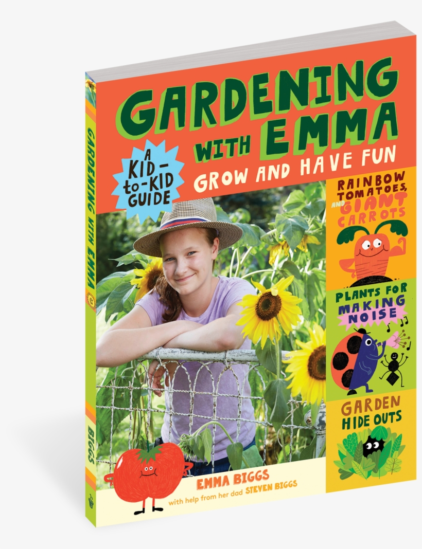Cover - Gardening With Emma: Grow And Have Fun: A Kid-to-kid, transparent png #1877589