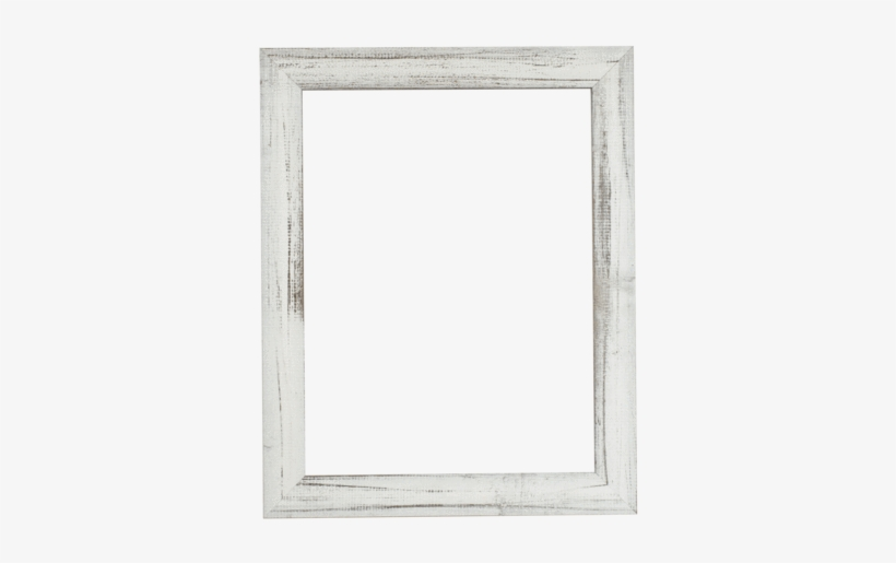 Custom Picture Frame - White Wood Picture Frame Detail, transparent png #1878392