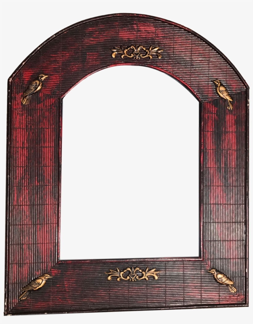 Rustic Decor - Arched Accent Mirror Hickory Manor House, transparent png #1878827