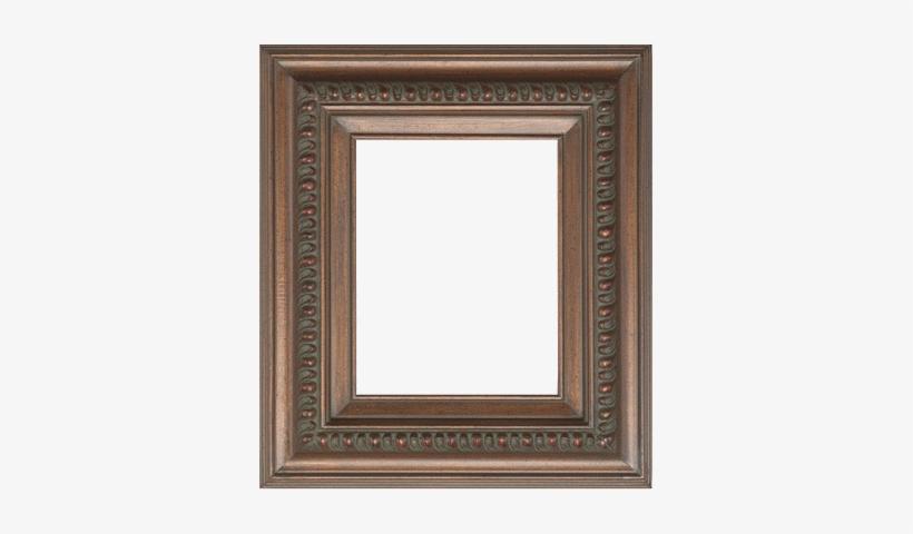 "Rustic Ornate Walnut - Blick Barrister Frame - 8"" X 10"" X 3/8"", Bronze, transparent png #1878850"