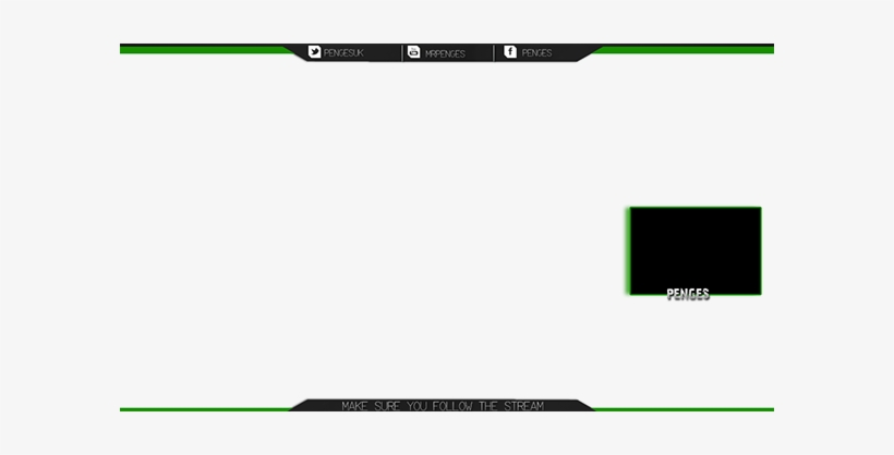 Battlefield 1 Twitch Overlay Overlays For Twitch - Green And