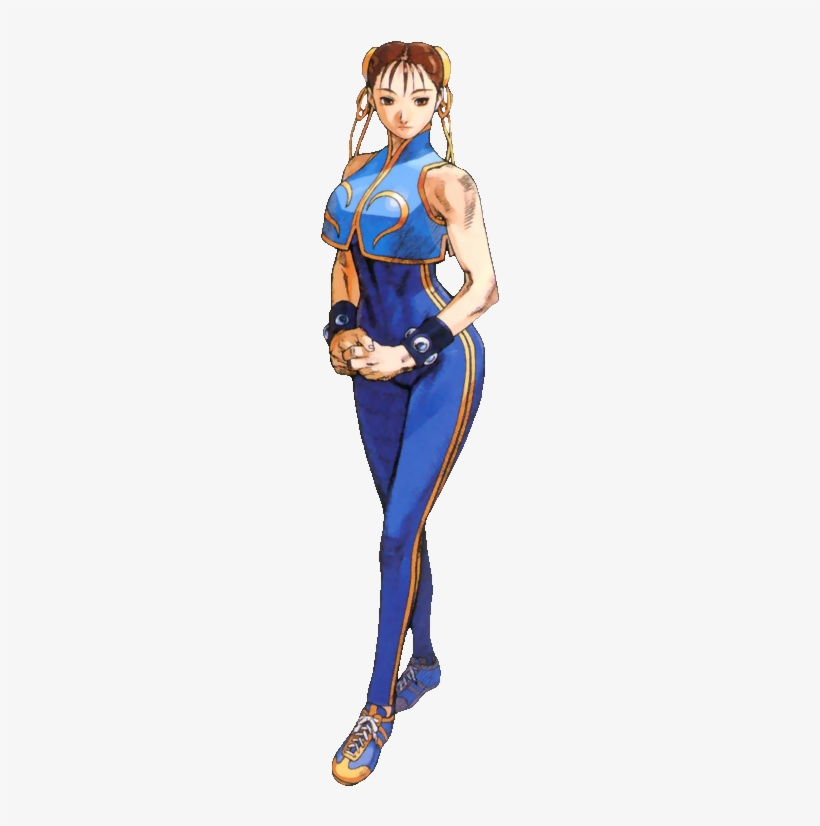 Chun Li As Seen In Street Fighter Alpha Street Fighter Chun Li