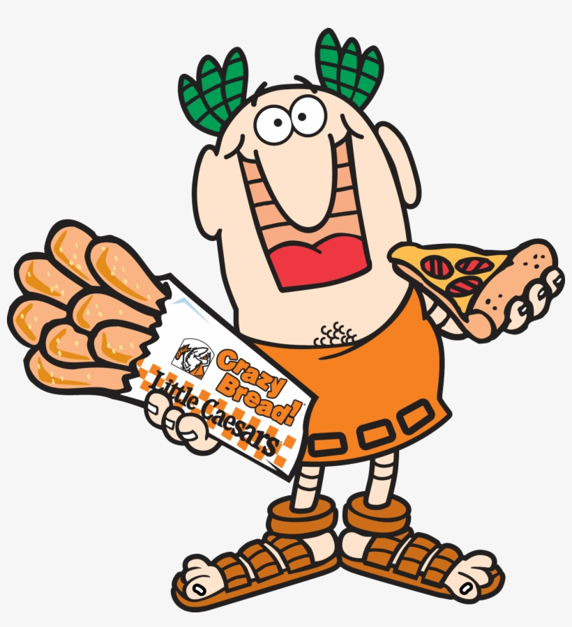 Large Pizza, Pizza Chains, Pizza Hut, Latin America, - Little Caesars Mascot Png, transparent png #1880480