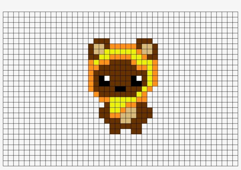 Pixel Art Star Wars Ewok Free Transparent Png Download