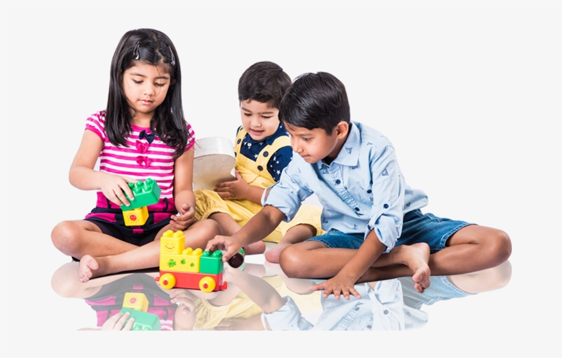 Our Curriculum Is Designed To Encourage Our Children - Indian Kids Playing, transparent png #1884368