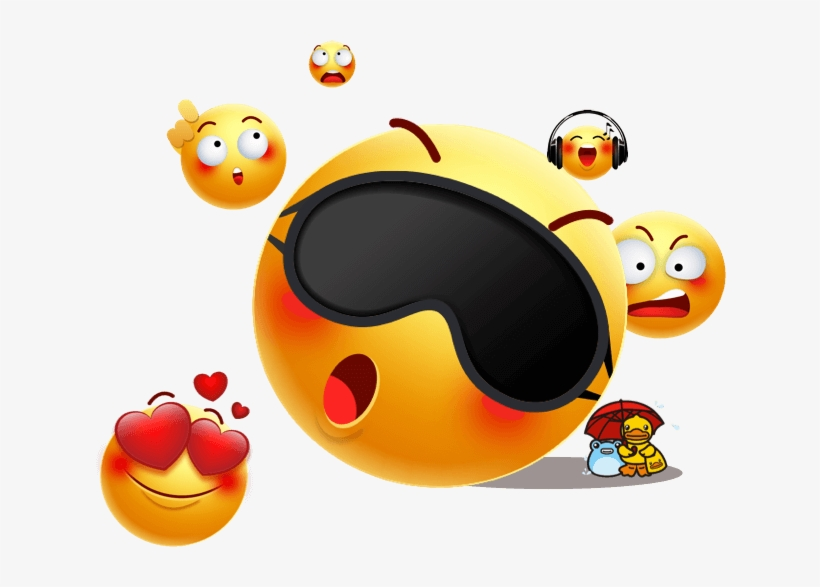 Clipart Resolution 632*507 - Funny Emojis Transparent Background
