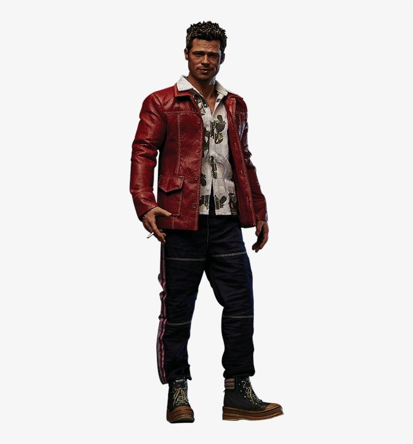 Tyler Durden Red Jacket Version Sixth Scale Figure Halloween