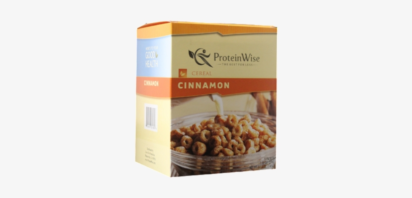 Cinnamon Protein Cereal - Healthsmart Cereal - Cinnamon (5/box), transparent png #1888952