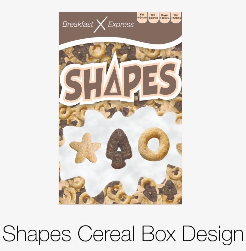 Cereal Box Design For Shapes Cereal - Health Benefits, transparent png #1889069