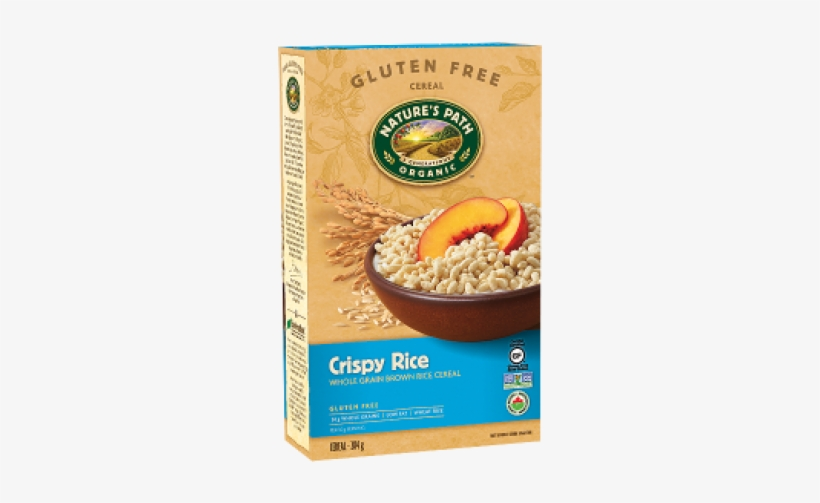 Natures Path Organic Crispy Rice Cereal 284g - Natures Path Crispy Rice Cereal - 10 Oz, transparent png #1889557
