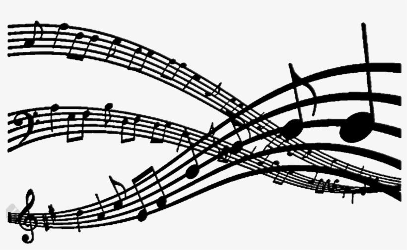 Camilla Santos Notas Musicais - Flow Of Music Notes, transparent png #1893690
