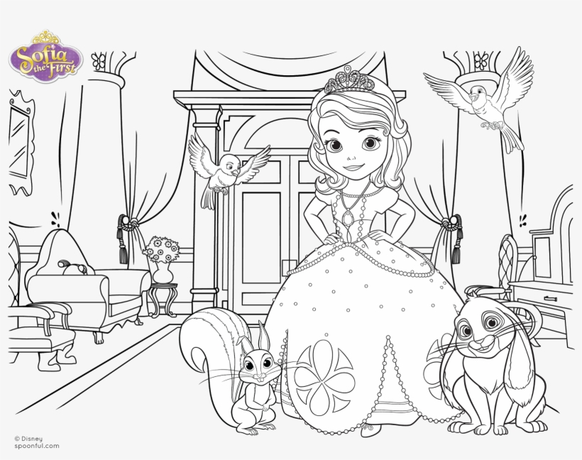 Sofia coloring pages || COLORING-PAGES-PRINTABLE.COM | 648x820