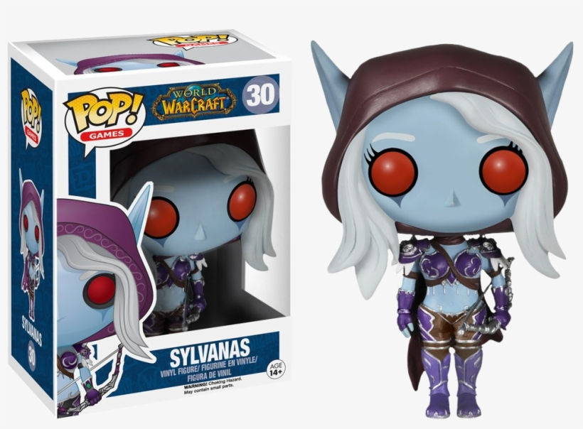 World Of Warcraft - Funko Pop Games World Of Warcraft - Lady Sylvanas, transparent png #1893884