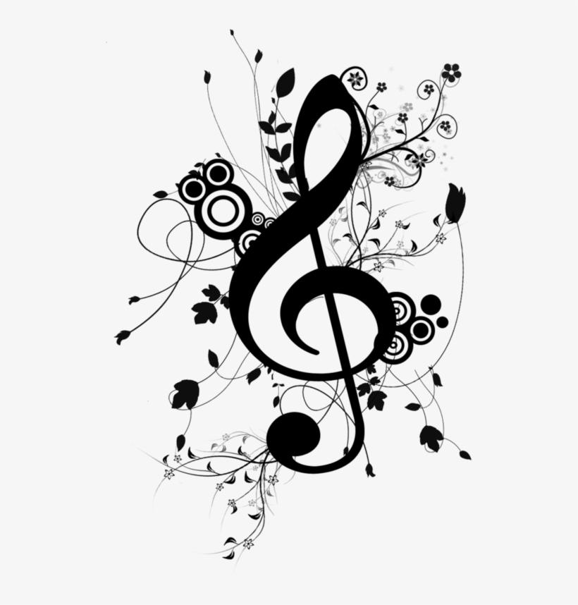 картинки скрипичный ключ с нотами люди