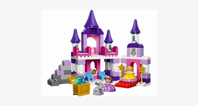 Enjoy Countless Royal Adventures In Princess Sofia's - Lego: Duplo: Sofia The First Royal Castle (10595), transparent png #1893981