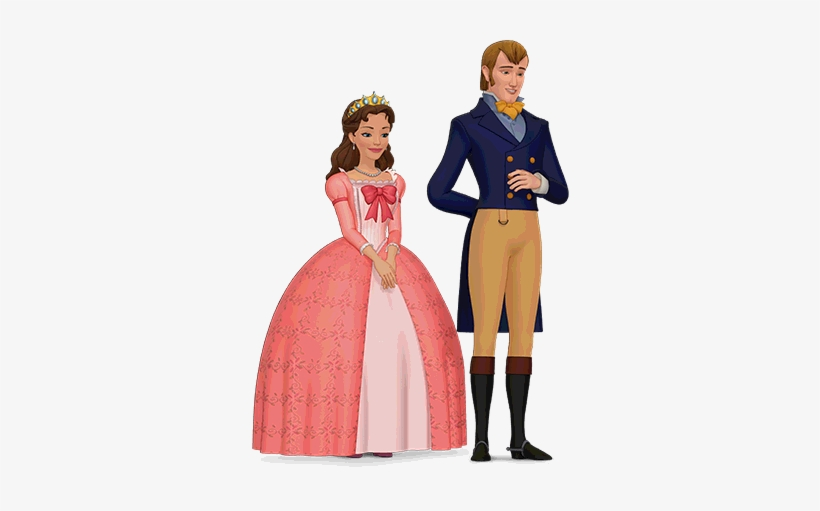 Princess Clipart King And Queen - Sofia The First Queen Miranda And King Roland, transparent png #1894169