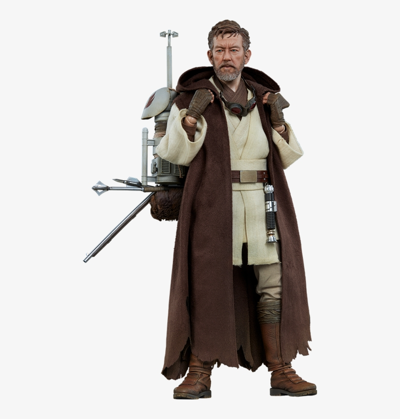 Obi-wan Kenobi Star Wars Mythos 1/6 Action Figure By - Star Wars Mythos Obi-wan Kenobi 1:6 Scale Figure, transparent png #1894902